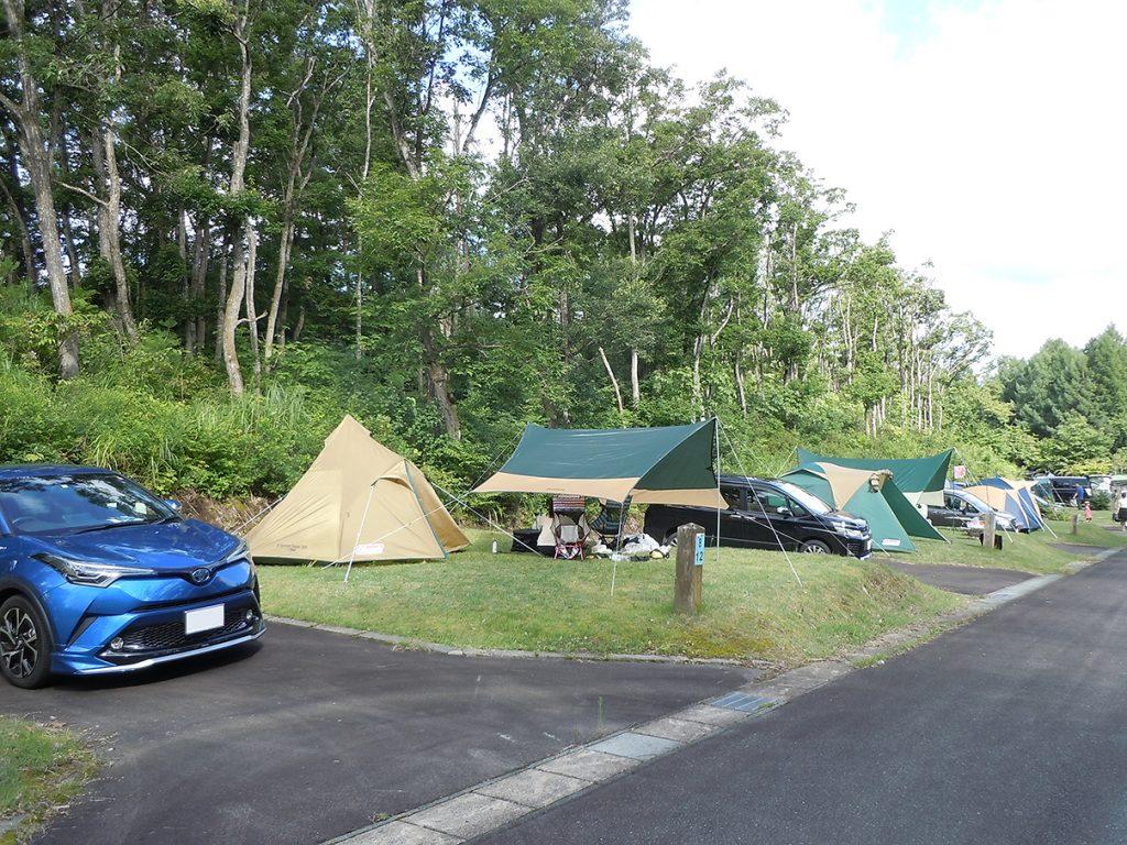 普通サイト | サンビレッジ徳良湖オートキャンプ場