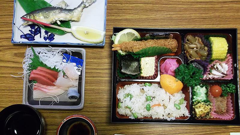 お弁当 | 徳良湖温泉花笠の湯