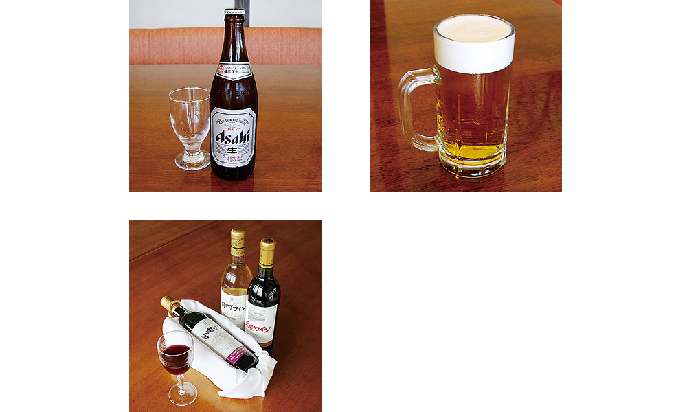 アルコール | ステーキ&洋食レストラン徳良