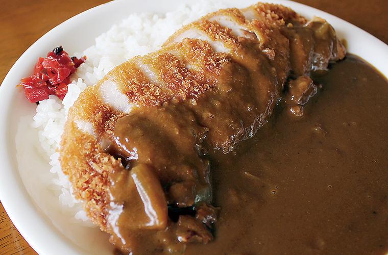 カツカレー | ステーキ&洋食レストラン徳良湖