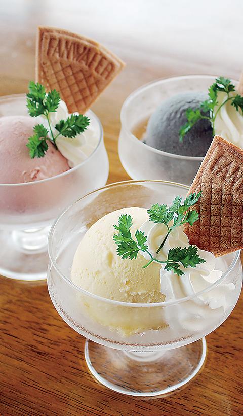 アイスクリーム | ステーキ&洋食レストラン徳良湖
